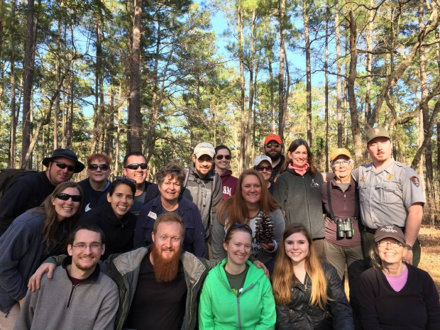 Houston Zoo and Dallas Zoo at the long-leaf pine planting in the Big Thicket!