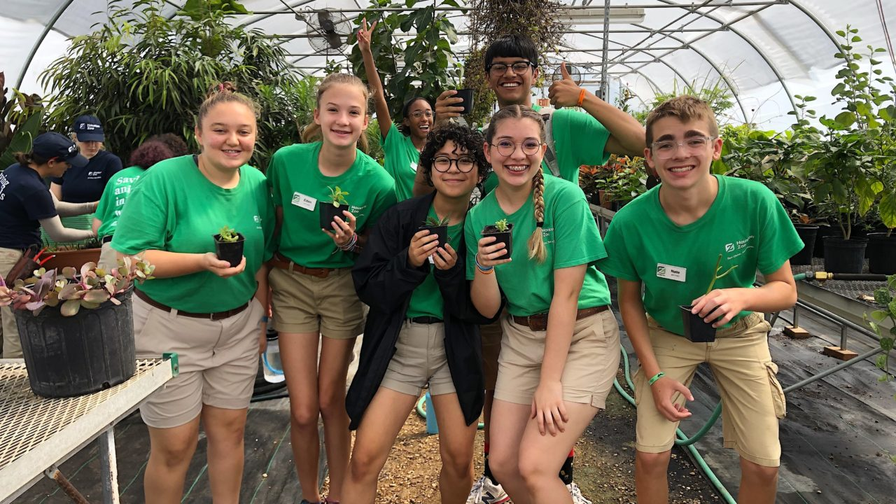 Teens The Houston Zoo