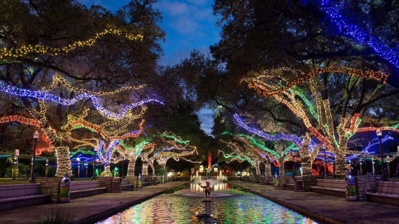 Christmas Lights Houston 2020 TXU Energy presents Zoo Lights   The Houston Zoo
