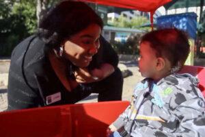 joann on zoo grounds