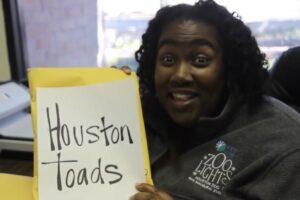 joann working on houston toads program
