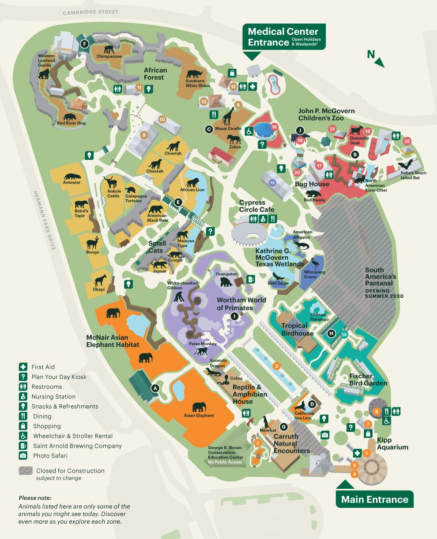 Gate Map